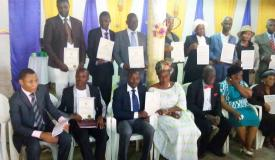 14 Ministers and Elders ordained in Benin Republic