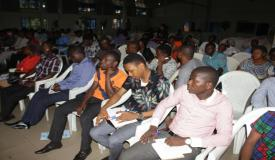 Pastor Isaac Olori interacts with the Youths of GEWC