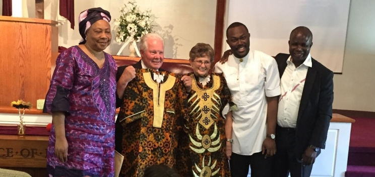 Pastor James and Diane Pierce celebrate 50th Wedding Anniversary