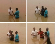 Water Baptism holds in GEWC, Kogi State