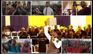 Persistent Faith: May 2016 Healing Service