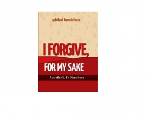 I Forgive, For My Sake